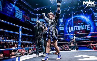 Michael Robin Long – 16 july 2017, Max Muay Thai Pattaya.