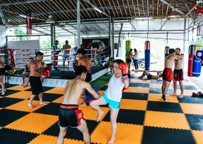 Bull Muay Thai Mixed Traning Sessions