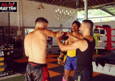 Bull Muay Thai Posture Training
