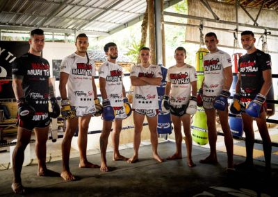 Bull Muay Thai Professional Fighters Group Photo