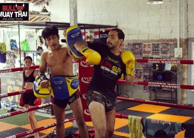 Bull Muay Thai Ring Training Session 2