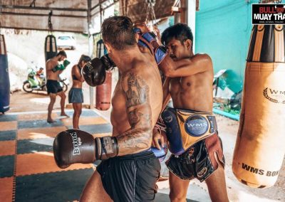 Muay Thai Intense Private Training Session Guy